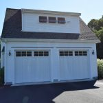Attached 2 bay garage with dormer