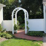 Garden Arbor fence