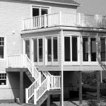 Double Level Deck with sun room