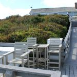 Beach Stairs with landing deck
