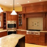 Kitchen with custom touches throughout